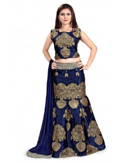 Bollywood Replica - Navratri Special Blue Lehenga Choli - 24CL09-13
