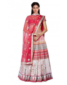 Bollywood Replica - Navratri Special Pink Lehenga Choli - 24CL09-14