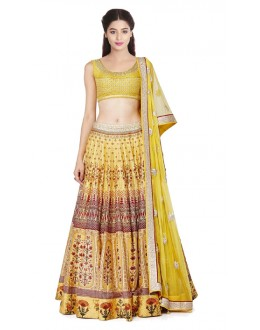 Bollywood Replica - Navratri Special Yellow Lehenga Choli - 24CL09-15