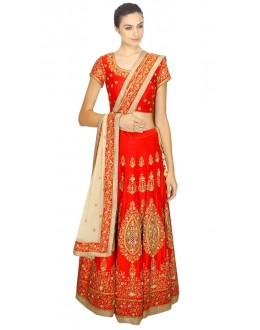 Bollywood Replica - Navratri Special Red Lehenga Choli - 24CL09-05