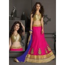 Gota Silk Pink Lehenga Choli Dress Material - 67630