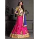 Gota Silk Pink Lehenga Choli Dress Material - 67632