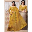 Traditional Wear Art Silk Yellow Saree - 67950
