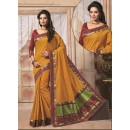 Traditional Wear Art Silk Yellow Saree - 67952
