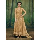 Eid Special Brown Georgette Salwar Suit - 69560