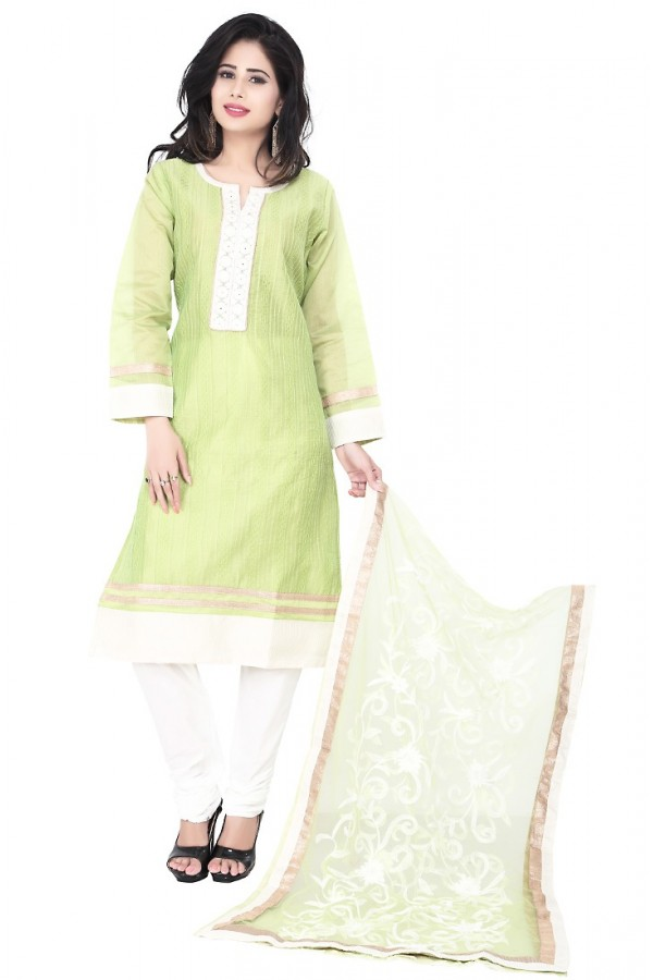 Party Wear Green Readymade Salwar Suit  -  71314