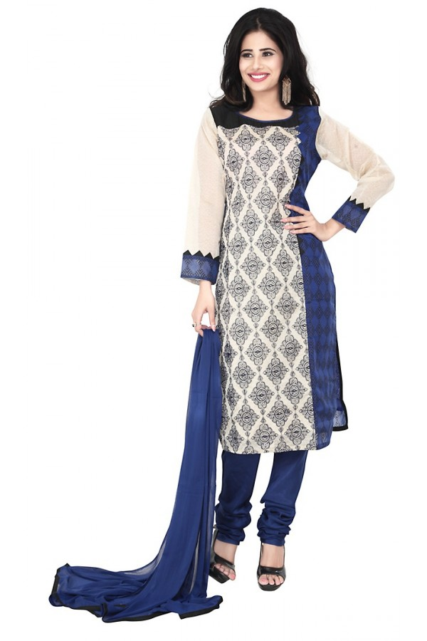Party Wear Multicolour Readymade Salwar Suit  -  71320
