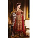 Ethnic Wear Red Georgette Anarkali Suit- 73538