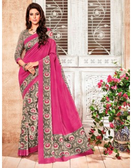 Ethnic Wear Multi-Colour Silk Saree  - 79252