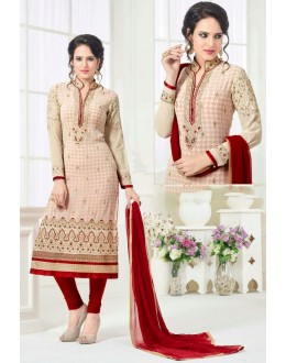 Festival Wear Off White Georgette Salwar Suit - 81242
