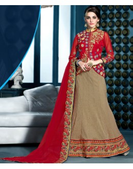 Traditional Bhagalpuri Silk Lehenga Choli - 81292