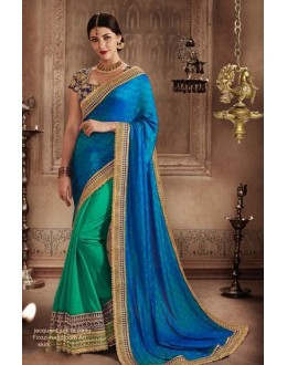 Jacquard Multi-Colour Designer Saree - 81299