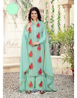 Eid Special Turquoise, Palazzo Suit - 70041