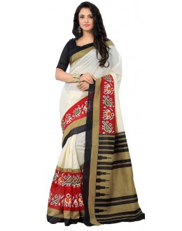 Ethnic Wear Multicolour Art Silk Saree - RKAP8911