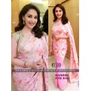 Bollywood Replica - Madhuri Dixit in Designer Georgette Printed Saree - BT-120