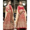Bollywood Replica - Alia Bhatt Wedding Wear Red Heavy Embroidered Lehenga Choli - 7007 (SAM-205)