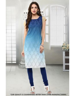 Office Wear Readymade Multi-Colour Kurti - 50270