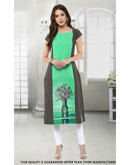 Office Wear Readymade Multi-Colour Kurti - 50272