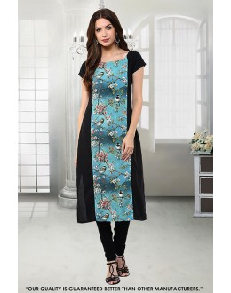 Office Wear Readymade Crepe Kurti - 50275
