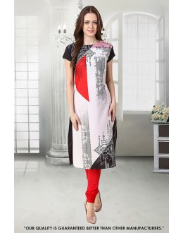 Office Wear Readymade Crepe Kurti - 50280