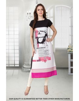 Office Wear Readymade Crepe Kurti - 50312