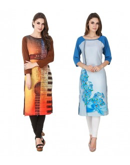 Festival Wear Readymade Kurti Combo Pack Of 2 - 50323 -50330A