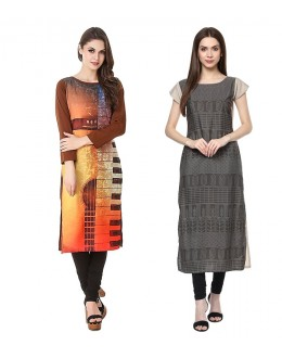Ethnic Wear Readymade Kurti Combo Pack Of 2 - 50323-50333