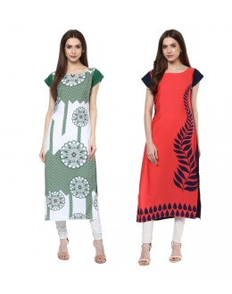 Ethnic Wear Readymade Combo Pack Of 2 Kurti - 50334-50324