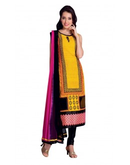 Ethnic Wear Readymade Multi-Colour Taffeta Kurti - 50429