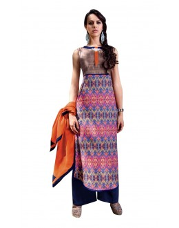 Wedding Wear Readymade Multi-Colour Taffeta Kurti - 50431