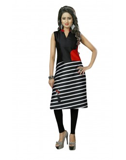 Ethnic Wear Readymade Multi-Colour Crepe Kurti - 50439