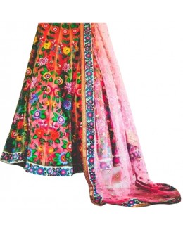 Bollywood Replica - Party Wear Multi-Colour Lehenga Choli - 60233