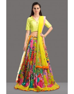 Bollywood Replica -Ethnic Wear Multicolour Lehenga Choli - 60248