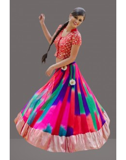Bollywood Replica -  Ethnic Wear Multicolour Lehenga Choli  - 60254