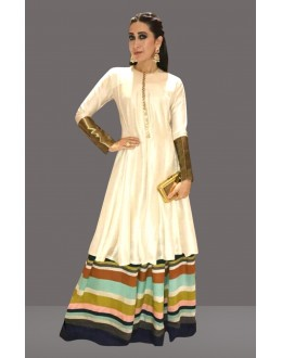 Bollywood Replica -  Karishma Kapoor In Off White Lehenga Suit  - 60260