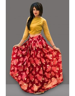 Bollywood Inspired  - Traditional Multi-Colour Lehenga Choli - 60287