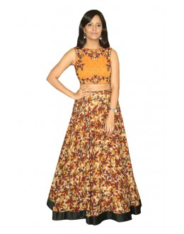 Bollywood Inspired  - Festival Wear Multi-Colour Lehenga Choli - 60327
