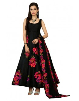 Bollywood Inspired - Festival Wear Black Anarkali Suit  - 60332