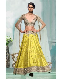 Bollywood Inspired  - Festival Wear Yellow  Lehenga Choli - 60343