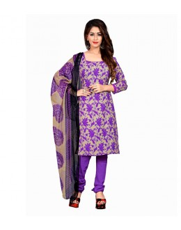 Office Wear Purple Art Silk Salwar Suit - 70743