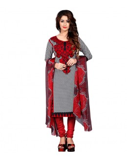 Office Wear Multi-Colour Art Silk Salwar Suit - 70759