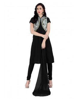 Festival Wear Black Georgette Salwar Suit - EBSFSK15510B