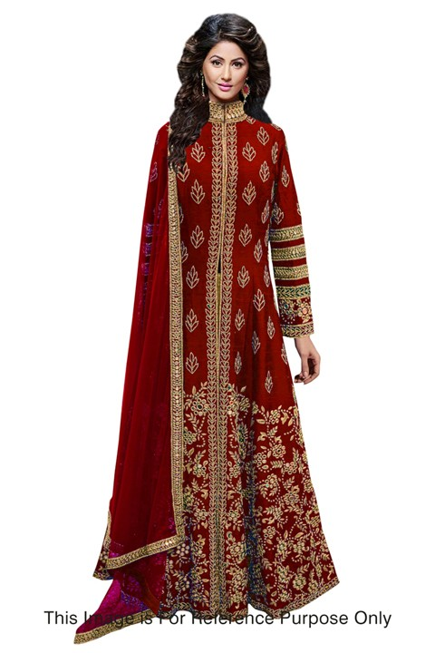Bollywood Replica - Bridal Wear Red Anarkali Suit - 70711