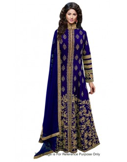 Bollywood Replica - Bridal Wear Blue Anarkali Suit - 70712