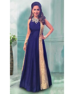 Bollywood Replica - Madhuri Dixit In Blue Gown - 70779