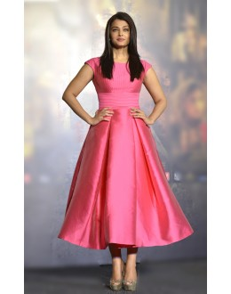 Bollywood Replica - Aishwarya Rai In Designer Pink Ready -Made Gown - 70818
