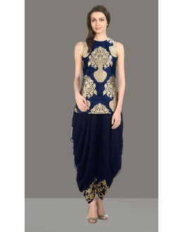 Bollywood Replica - Party Wear Blue Patiyala Suit  - 70838