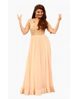 Bollywood Replica - Jacqueline Fernandez In Peach Gown - 70950
