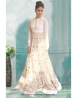 Bollywood Inspired - Kareena Kapoor In White Gown - 71194