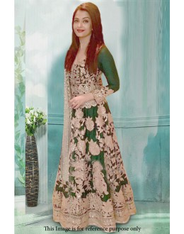 Bollywood Inspired - Aishwarya Rai In Green Anarkali Suit - 71202